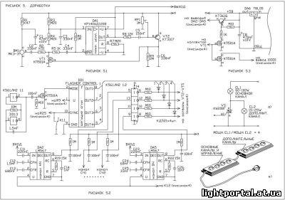 На РИСУНКЕ 5.1 показан вариант введения в схему микрофонного усилителя глубокой АРУ взамен фриттера.